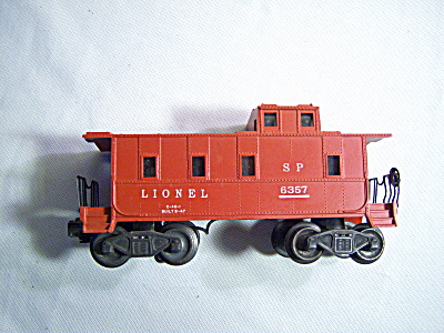 Postwar Lionel #6357 Illuminated Sp Type Caboose