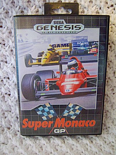 Super Monaco (Sega Master, 1990) CIB COMPLETE ++ (Image1)