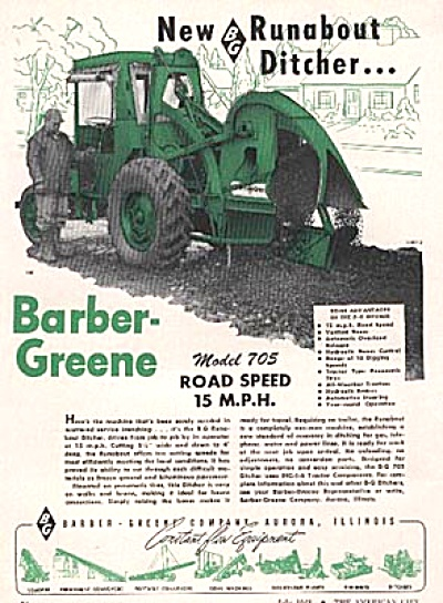 1948 Barber Greene Ditch Digger AD (Image1)