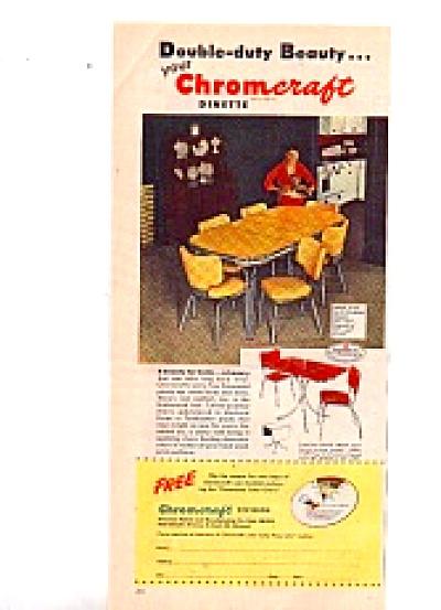 1951 Chromcraft Dinette AD (Image1)
