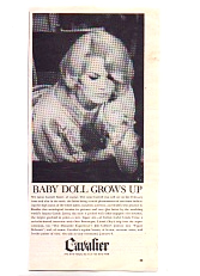 1964 Baby Doll Carroll Baker Grows Up Ad