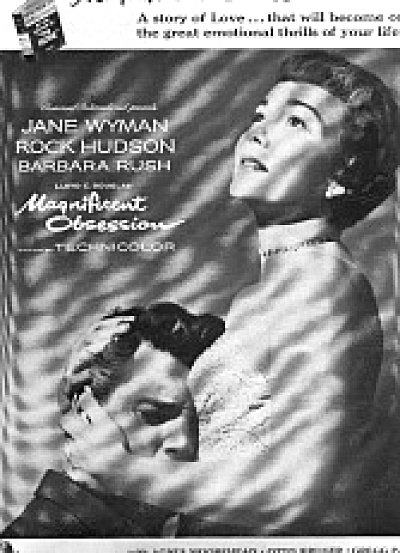 1954 Magnificent Obsession Jane Wyman Ad (Image1)