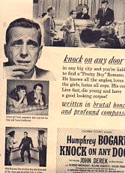 1949 Humphery Bogart Pretty Boy Movie Ad (Image1)