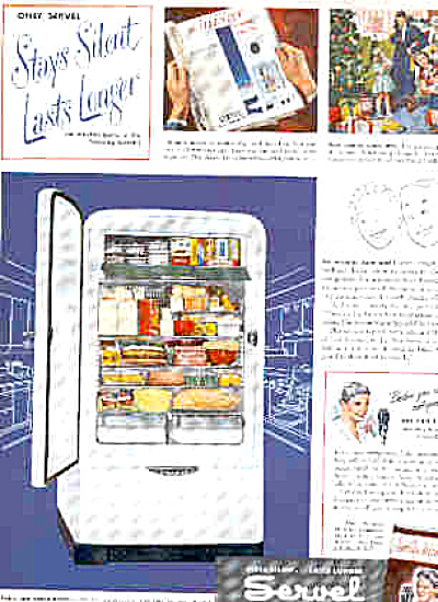 1949 Servel Silent Gas Refrigerator Ad (Image1)