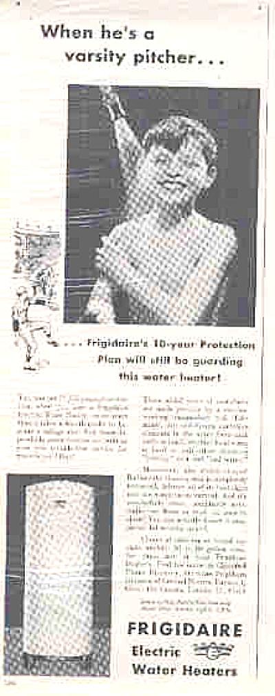 1949 Frigidaire Nude Boy In Shower Ad (Image1)
