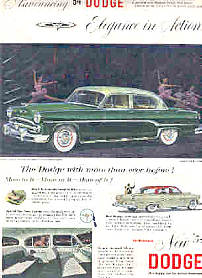1954 Dodge Royal Sedan Ad (Image1)
