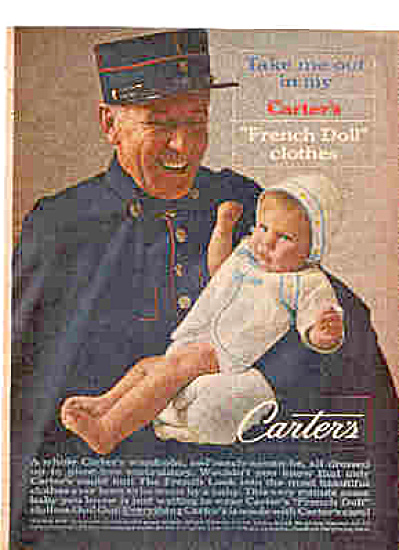 1963 French Policeman Baby Clothes By Carters