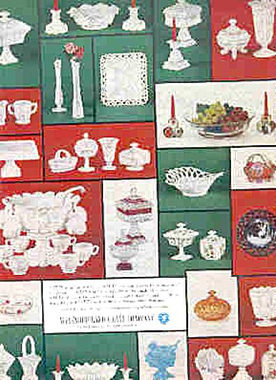 1963 Westmoreland Glass Company Ad (Image1)