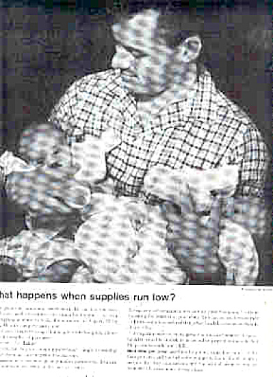 1959 Daddy And Twins Advertisement Ad (Image1)