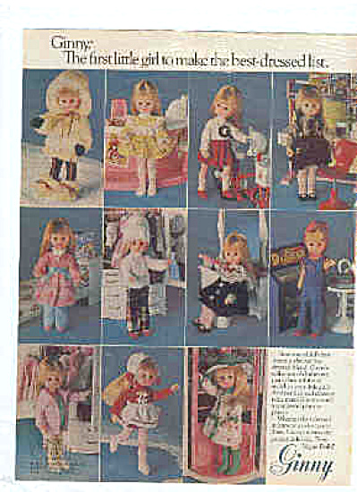 1979 Vogue Doll Ginny Plus Doll Outfits Ad (Image1)