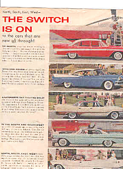 1951 Chrysler Corporation 5 Cars Ad BELVEDERE (Image1)