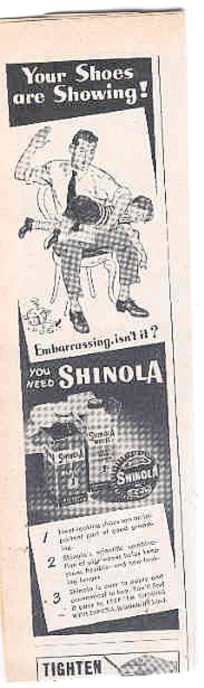 1948 Shinola Man Spanking Boy Ad (Image1)