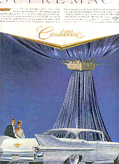 1958 SUPREMACY Cadillac CAR Ad (Image1)