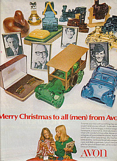 1971 Avon Mens Colognes And Bottles Ad (Image1)