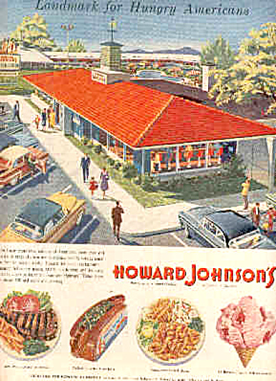 1957 Howard Johnsons Restaurants Lodge Ad (Image1)