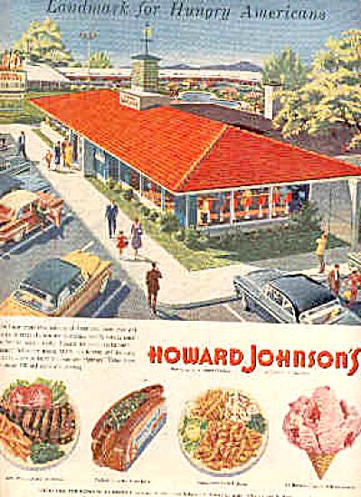 1957 Howard Johnsons Restaurants Lodge Ad (Image1)