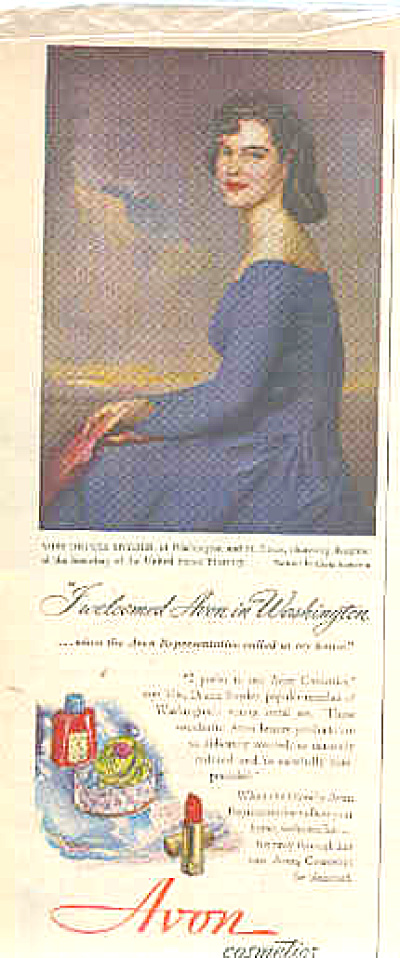 1949 Portriat By Greta Kempton Avon Ad (Image1)