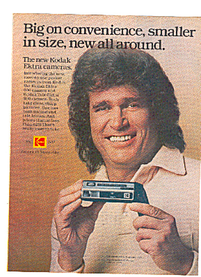 1980 Michael Landon Kodak Camera Ad (Image1)