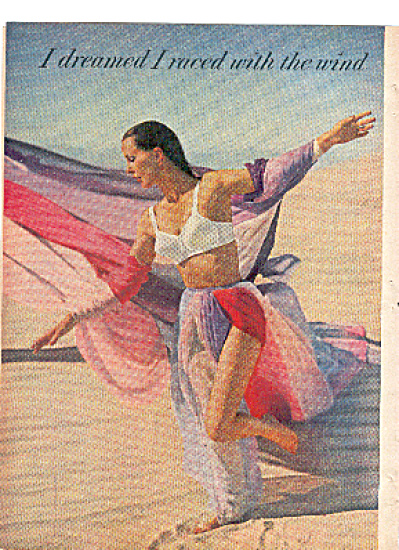 1957 Raced With The Wind Maidenform Bra Ad (Image1)