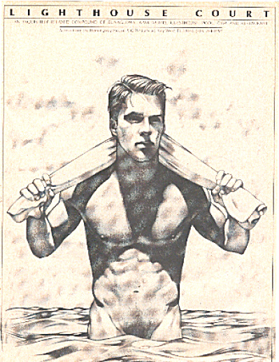 1977 Beautiful Naked Man Gay Interest Ad (Image1)