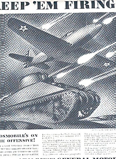 1942 Oldsmobile Armed Forces War Ad (Image1)