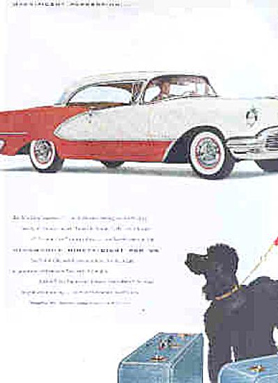 1956 Oldsmobile Starfire Poodle Dog Ad (Image1)