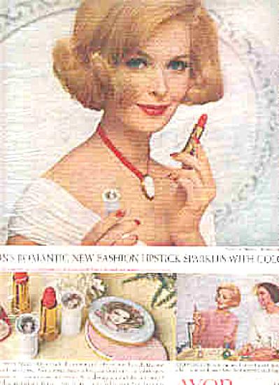 1965 Avon Romantic Lipstick AD SARA THOM (Image1)