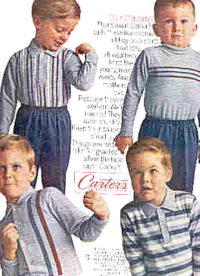 1965 Carters City Cousins Polo Little Boys Ad (Image1)