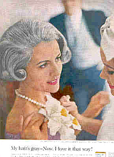 1963 Mother Of The Bride Clairol Ad (Image1)