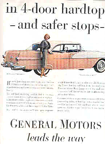 1956 Pontiac Catalina Eye Catching Beauty Ad (Image1)