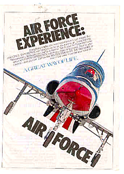 1981 Air Force Experience Ad (Image1)