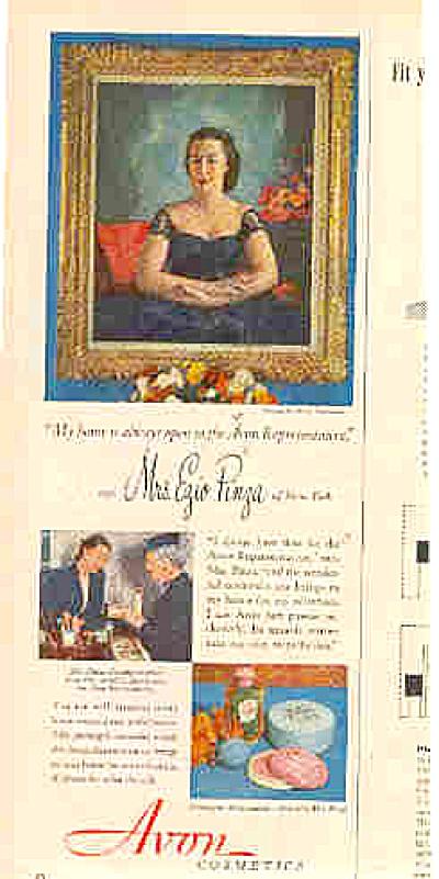 1950 Avon Cosmetic Ezio Pinza Ad (Image1)