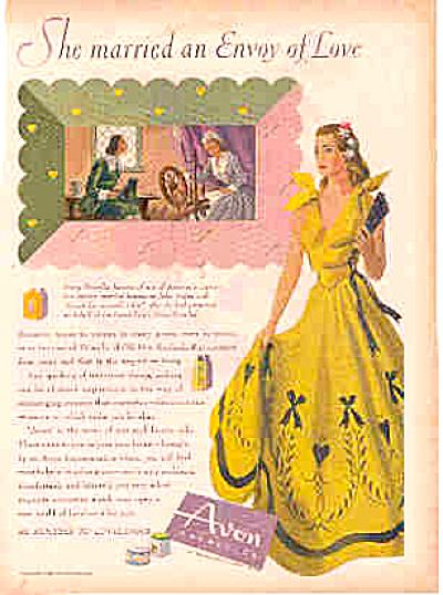 1944 Avon Romance Spinning Wheel Ad (Image1)