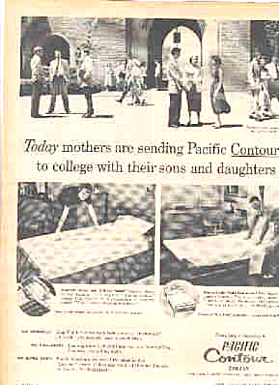 1953 Pacific  Sheets Girls/Boys College Ad (Image1)