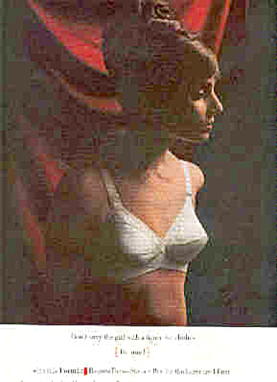 1964 Formfit Rogers Lovely Lady Bra Ad Envy