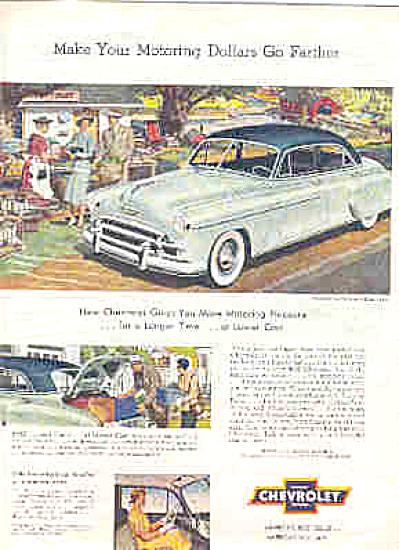 1950 Chevrolet Motoring Pleasure Car Ad (Image1)