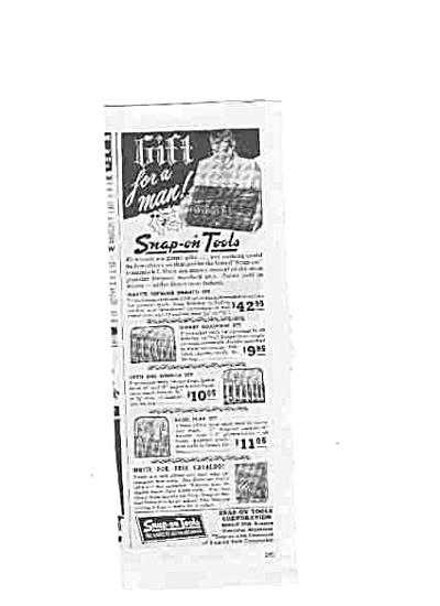 1951 Snap-On VINTAGE Tools Ad (Image1)