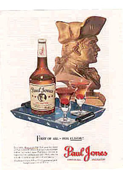 1947 Paul Jones Whiskey Ad (Image1)