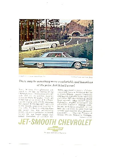 1963 Jet-Smooth Chevrolet Bel-Air Impala Ad (Image1)