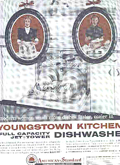 1958 Youngstown Kitchen Dishwasher Ad (Image1)