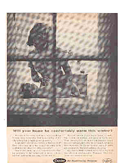 1964 Carrier Heating Systems Naked Baby Ad (Image1)