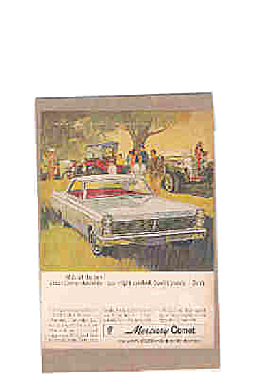 1964 Mercury Comet Car Ad (Image1)