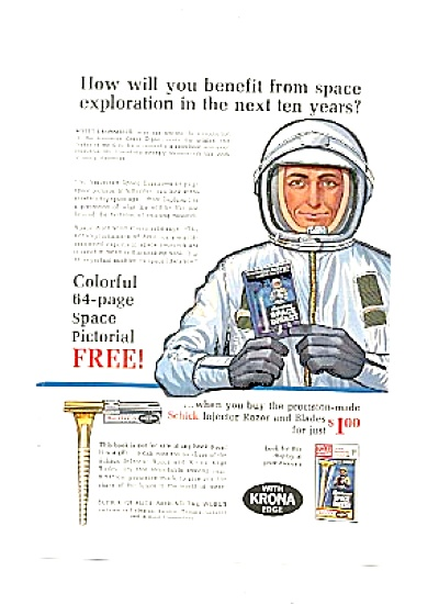 1963 Scott Crossfield Aerospace Executive Ad