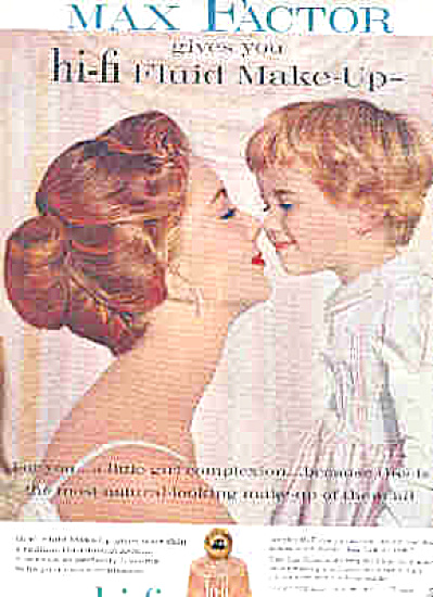 1959 SUZY PARKER And Little Girl Max Factor A (Image1)