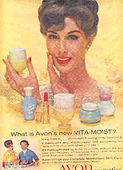 1959 Avon Lady Cosmetics Ad (Image1)