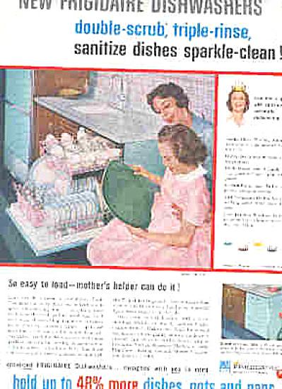 1959 Frigidaire Automatic Dishwasher Ad (Image1)