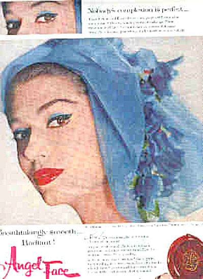 1959 Angel Face Make-Up by Ponds Ad (Image1)