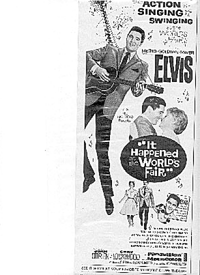 Elvis Presley World's Fair Movie Ad (Image1)