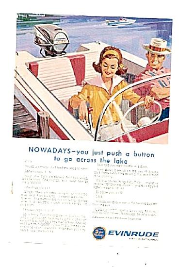 1963 Evinrude Outboard Motor Lake Ad (Image1)