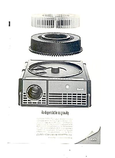 1963 Kodak Carousel Movie Projector Ad (Image1)